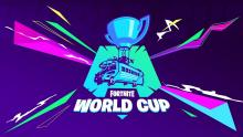 Promo photo of the epic World Cup for Fortnite.