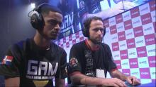 Brazilian player DidimoKof facing off against Caba in a tournement.