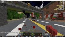 Now this is what I'm talking about. Adding a gun to Minecraft? Hilarious.