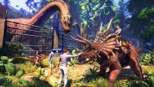 Visiting an Ark Jurassic World themed Park