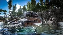 Imagine riding a plesiosaurus underwater...