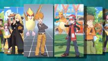 Pokemon Masters just wouldn't be complete without the two champions who set the bar for all the rest--Red and Blue!