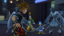 Worried Faces of Sora, Gooft and Donald Duck