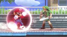 Mario's shield might be more effective
