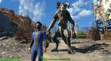 Sometimes it doesn't pay to wonder off on your own, and other times you can name a Deathclaw after your lost son.