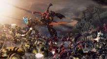 Imperial Fists vs Chaos Daemons