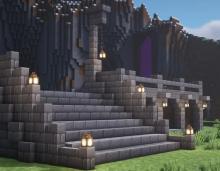 A castle in simply vanilla