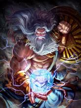 Open up the skies and rain lightning on your foes with Zeus, as the king of the gods victory is virtually assured