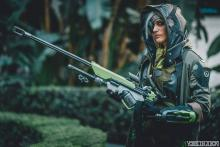 Exception Overwatch cosplay