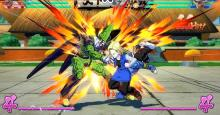 Android 18 calls on Android 17 to help beat up Cell