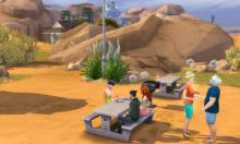 Hiking, Pretty, Oasis Springs, Sims 4, Base Game