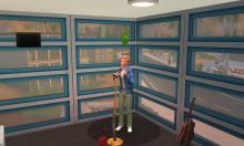 Johnny Zest, Landgraab, Households, Comedy Career, Sims 4, Comedy skill, Lounge