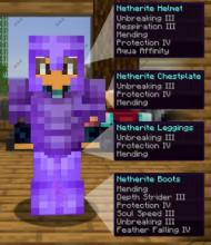 Combined armour enchantments