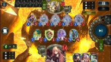 Here we see Arisa destroying an online Dragoncraft player by not allowing any of his followers to attack next turn. He's already low on HP, and therefore has no shot at victory at this point. Forestcraft is more powerful than it looks!