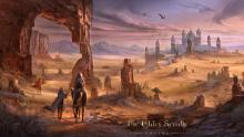 Alik'r Desert is a Location in Elder Scrolls Online.An arid wasteland where ancient ruins and deadly creatures lie hidden in the shifting sands.
