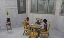 SIms 4, Mod, Delgato, Brindleton Bay, Table