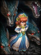 Scylla, in all her tentacular horror, can smash even the strongest foe in the Arena