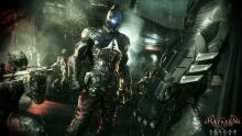 Batman and the Arkham Knight on the streets of Gotham