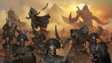 Tomb Kings march to war