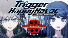 Here is the opening screen for Danganronpa: Trigger Happy Havoc.