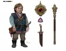 A rogue by trade, Regis is definitely one of the more morally gray members of the Champions of the Hall. Known for his mystical ruby pendant, mace, and dagger. Regis tries his best to avoid conflict, but when brought to it has been shown to be well trained with both of his weapons.