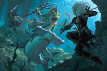 Creatures are also in the sea