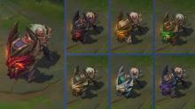 Braum has several chroma's, one for his dragonslayer skin.