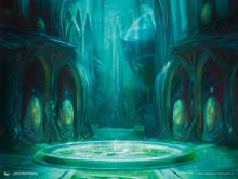Simic guild's personal spa on Ravnica