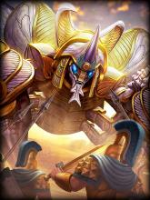 Khepri is an Egyptian Guardian and ranks 5th overall for the best guardians in SMITE