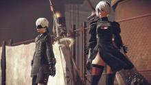 What an interesting world we have with NieR Automata. Everything is quite original.