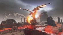 Only ash is to remain in the wake of ARK's fire breathing creatures.