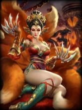 Da Ji is a Shinto Assassin and is the best Assassin in SMITE