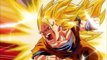 Super Saiyan 3 Goku ready to fight