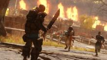 Nuclear Winter pits the player against an army of fellow Vault Dwellers in a blood sport to see who is worthy of the title of Overseer of Vault 51