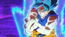 Goku in Super Saiyan Blue
