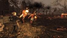 Fire: The best way to make a zombie ten times more intimidating.
