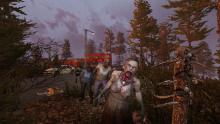 Zombie Pose: The best way to make a zombie seem less deadly.