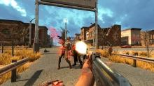 Players will use various ranged weapons to take down zombies