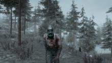 Beware the zombies lurking in the snow.