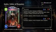 This card is one that is the key to our number one Shadowcraft deck's success. It summons the amulet Path to Purgatory, which does six damage to all enemies once you have thirty shadows. Once it's prepared, the enemy leader and their followers don't stand a chance against you