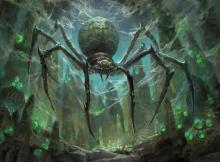 Green spider from Theros