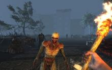Zombies are especially scary at night, when they can sprint at full speed towards you.
