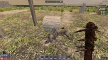 Dead zombie with Military armor