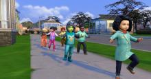 You wouldn't want a herd of toddlers running loose in your streets. Keep them neat and steady with the preschool mod!