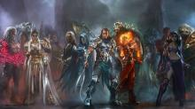 Some of the cast of multiverse travelers in MTG