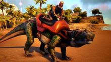 The Kaprosuchus is extremely fast, and has a pounce attack that can deal loads of damage