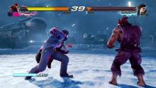 Dragunov unleashes a variety of low attacks in order to measure distance.