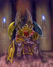 Bruenor is the 8th, 10th, and 13th king of Mithral Hall. And is also the adoptive father of another hero in Idle Champions, Cattie-Brie.