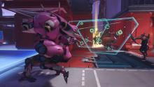 D.Va's defense matrix can eat up infinite damage when active