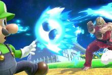 Ken hadokens poor Luigi